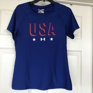 Under Armour | Fitted USA Tee